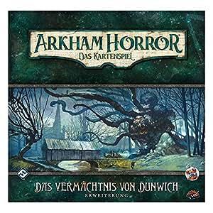 Asmodee ffgd1101 Arkham Horror: Cartas de El vermächtnis de ...