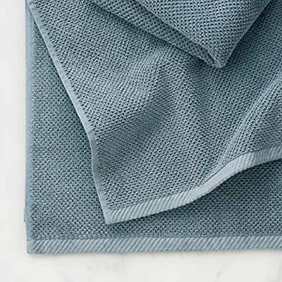 Slate Grey Popcorn Textured Durable 600 GSM Welhome Franklin Premium 100/% Cotton 2 Piece Bath Sheets Low Lint Machine Washable Highly Absorbent Hotel /& Spa Bathroom Towels
