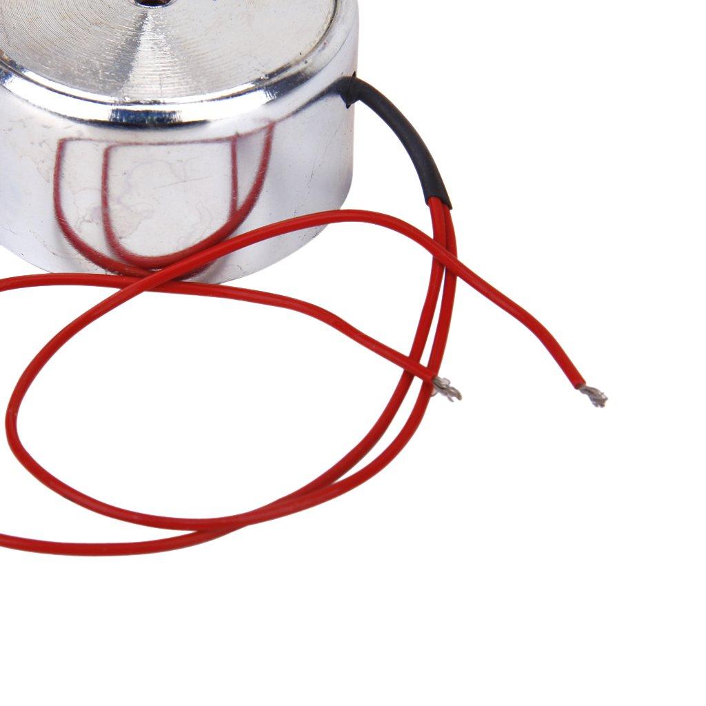 18Kg Electric Lifting Magnet Solenoid Electromagnet Lift Holding Force 500N