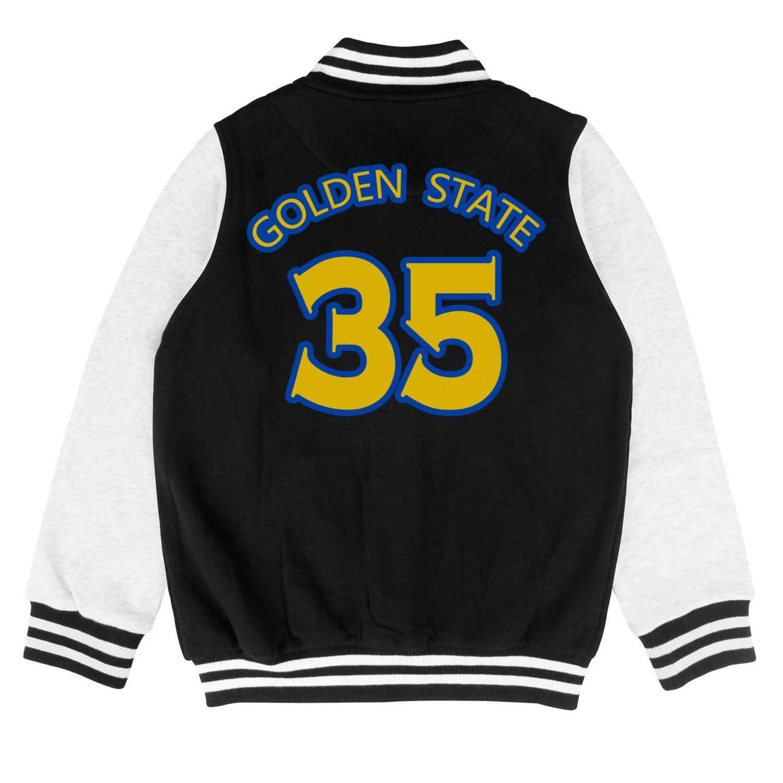 Toddler Kids golden-35-kd-state Black Sweatershirts Sweater Coat Cute