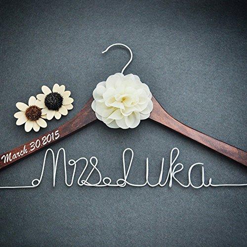 Personalized Bridal Hanger Wedding Bridesmaid product image
