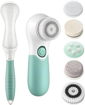 Lavany Facial & Body 7-in-1 Waterproof Facial Cleansing Brush