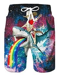 TUONROAD Women's Swimsuit Printed Long Sleeve Swimwear One Piece Rash Guard Tankini