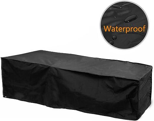 Funda para tumbona para sol Fellie Cover impermeable para jardín, protector de muebles de jardín y contra el polvo: Amazon.es: Jardín