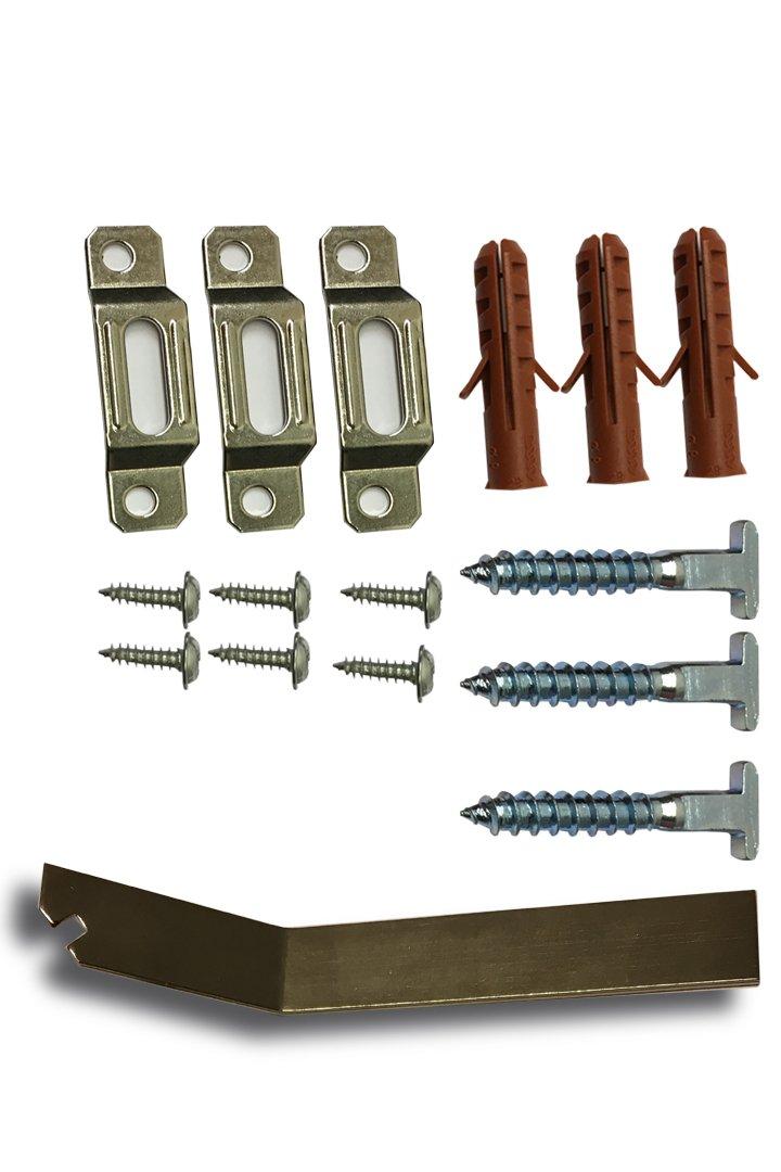 Complete Set Security Hanger Hardware Brackets For Art Picture Frame
