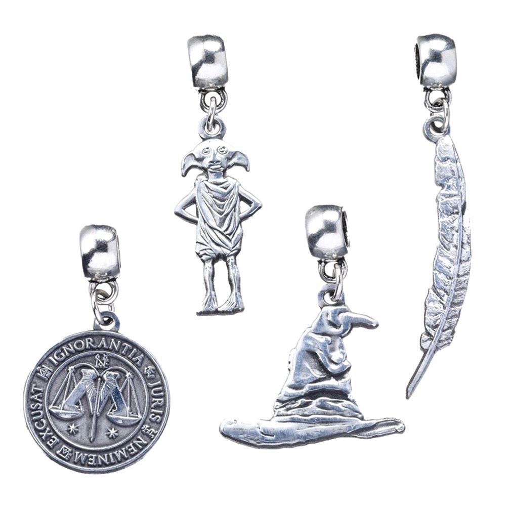Harry Potter Official Licensed Jewelry Charm Sets Charm Set 1 The Carat Shop N/A