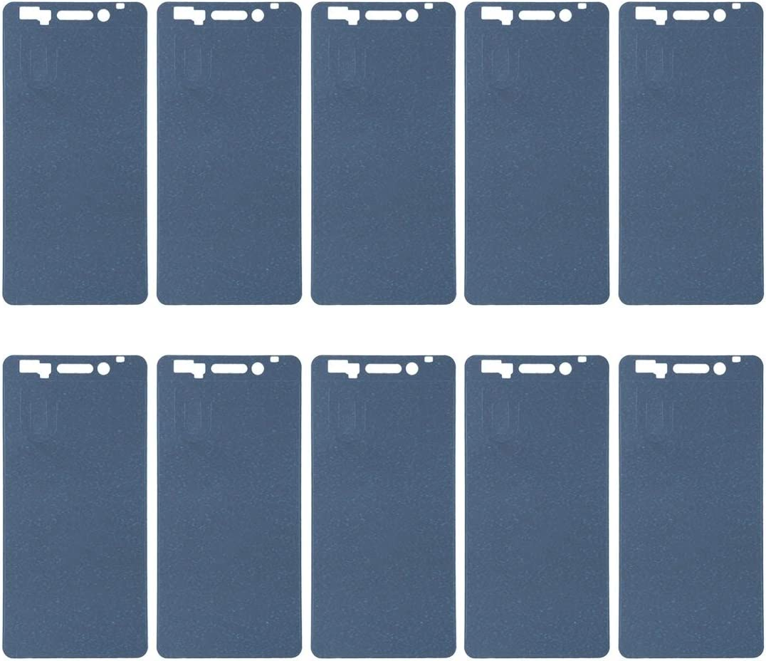 XIAOMIN 10 PCS Front Housing Adhesive for Nokia 6 Replacement