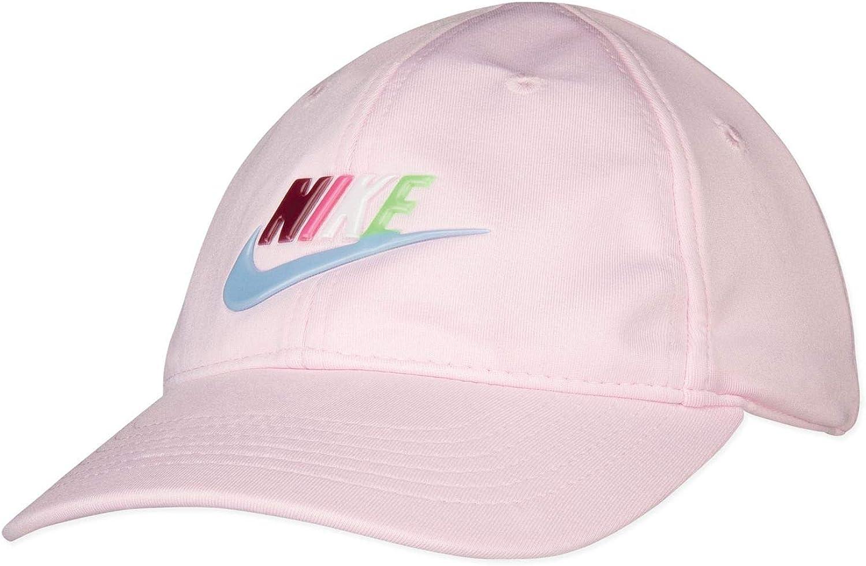 Nike Dri-Fit Swoosh - Gorra de béisbol para niña - - 4/6X: Amazon ...
