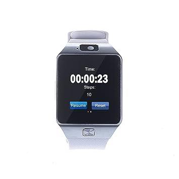 "Reloj Inteligente por Bluetooth pantalla 1.56"" con cámara 1,3MP para Smartphone Android Samsung"