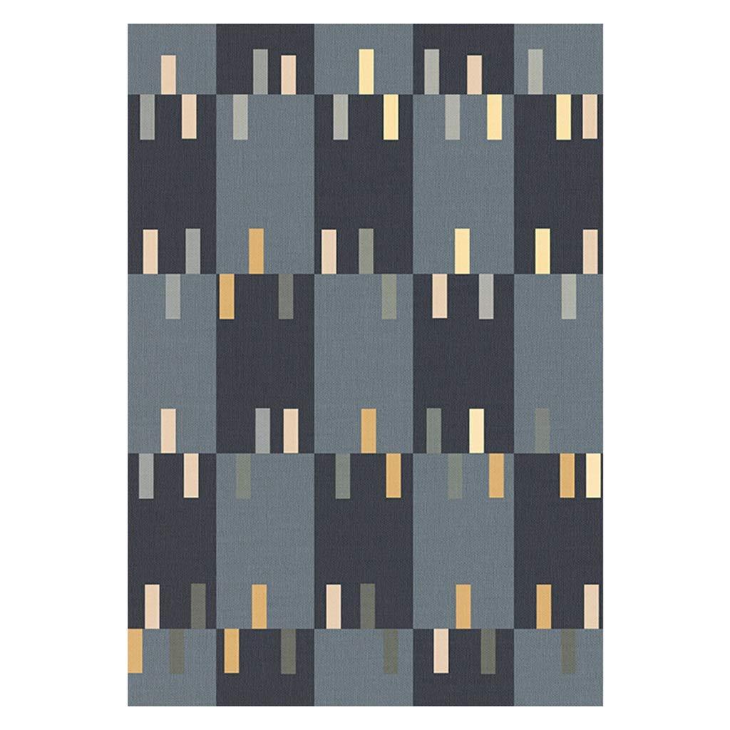 LONG GANG SHOP 長方形のカーペット防水現代シンプルな北欧スタイルのリビングルームベッドルームルームコーヒーテーブルソファーブランケット抽象的なインクカーペット (色 : 5, サイズ さいず : 120 * 160cm) 120*160cm 5 B07JBSHMD8