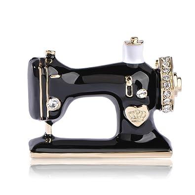Amazon com: Xiongzhen Women Girls Sewing Machine Brooch