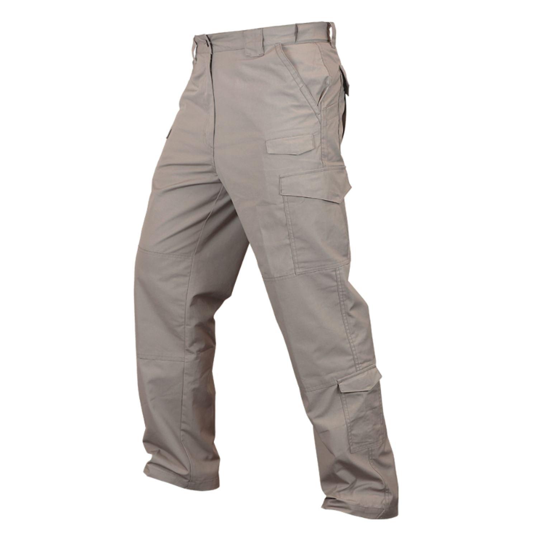 CONDOR 608 Sentinel Tactical Pants - Lightweight Ripstop Khaki 36X32