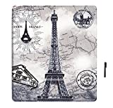 J Smart-Shell Stand Flip Case Cover With Auto Sleep/ Wake For All New Kindle Oasis E-Reader 2017 (7 Inch) Design Eiffel Tower