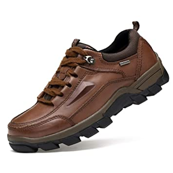 96da2243f006 Amazon.com : XUE Men's Shoe,Winter Fall Leather,Comfort Low-Top ...
