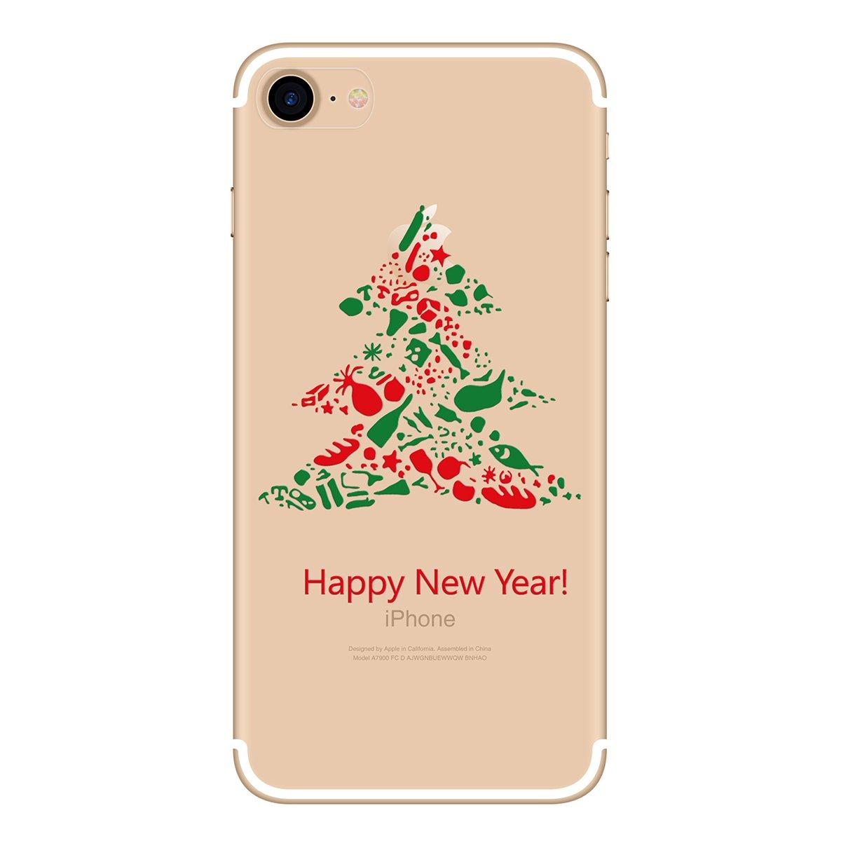 Yokata Merry Christmas Serise, iPhone 7 Hülle: Amazon.de: Elektronik