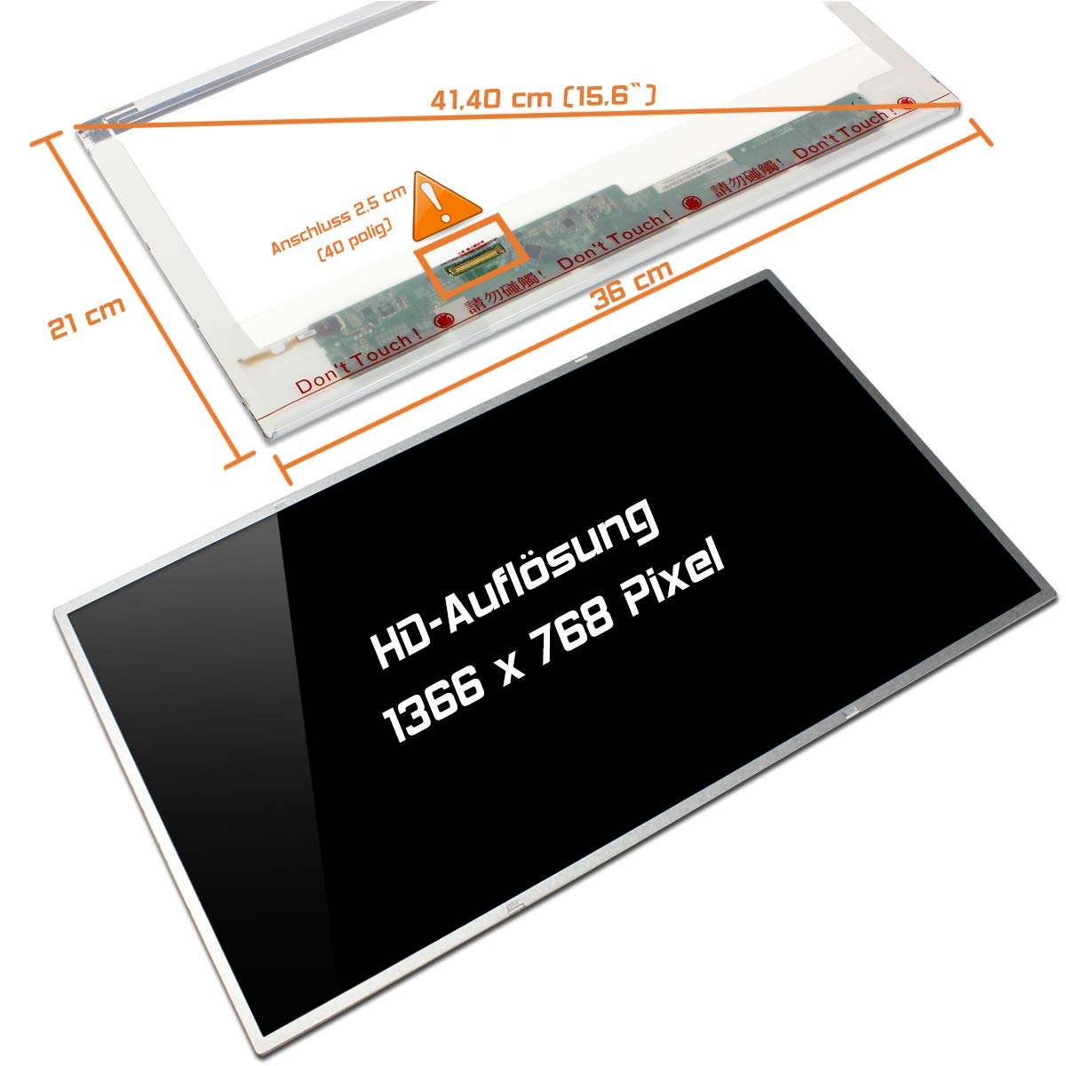 LP156WH4 (TL)(A1) & (C1) LG NEW 15.6' HD LED LCD Laptop Screen/Display -TLA1, -TLC1 (or compatible model) LG PHILIPS LED-1366-768-G-40-15.6-38