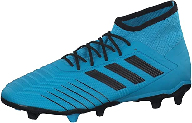 adidas Men Football Shoes Predator 19.2 FG Cleats Firm Ground Boots New (42 2/3 EU - 8.5 UK - 9 US)