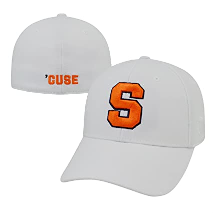 competitive price 7f565 cf1c0 Image Unavailable. Image not available for. Color  Top of the World Syracuse  Orangemen Official NCAA One Fit Premium Cuff Hat ...