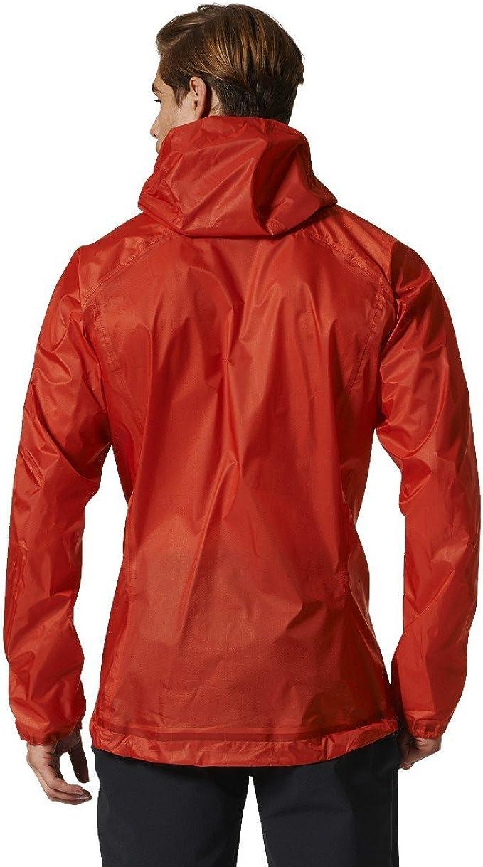 Vestes Adidas Orange Homme Veste Capuche Terrex Agravic 3l
