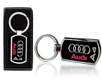 Cargifts Llavero de Metal Cromado para Audi A3