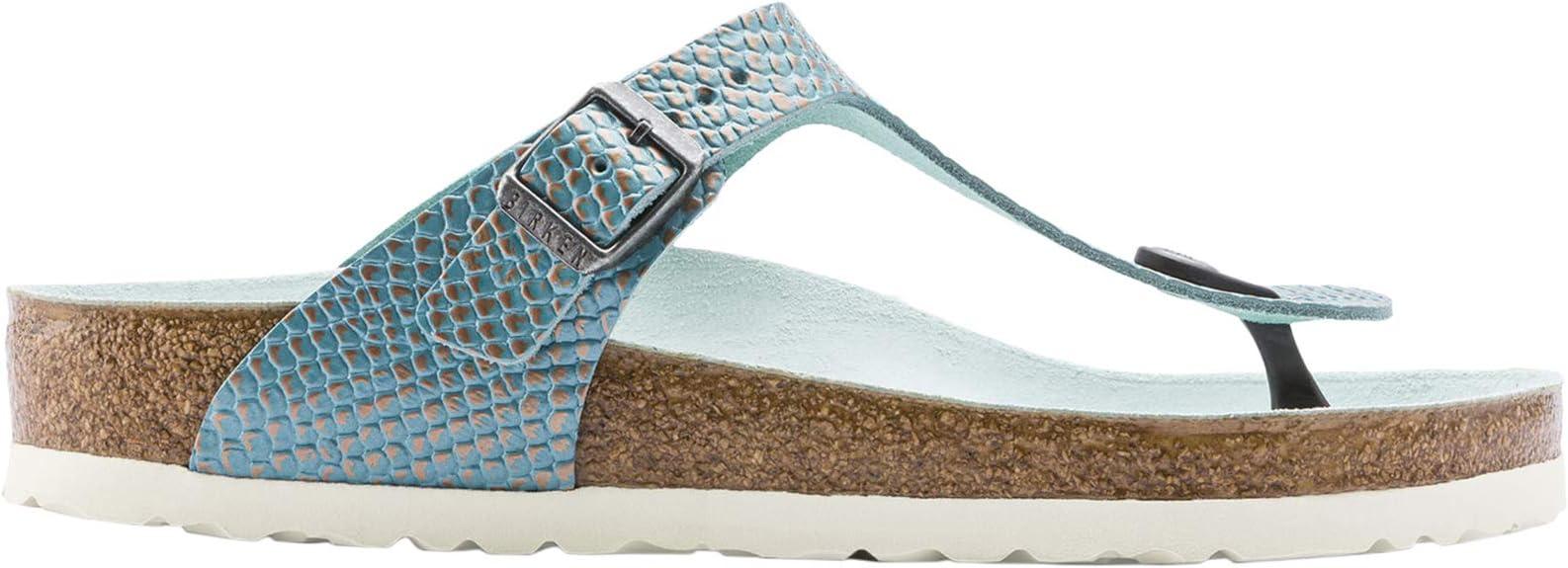 Birkenstock Gizeh NL Mermaid Aqua: : Chaussures et Sacs
