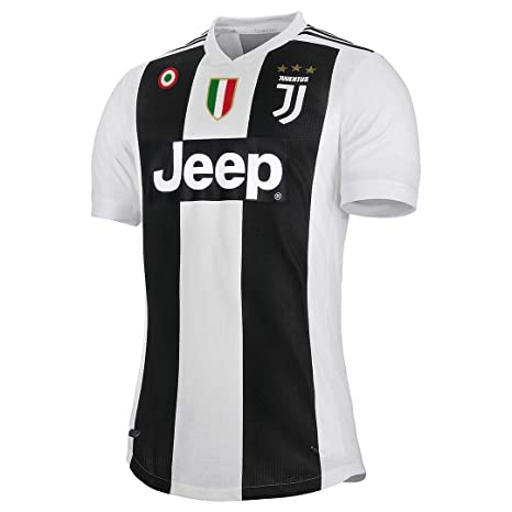 a796a3f7460caa Tyboo Home Ronaldo Maglietta Juventus CR7 Stagione 18/19 Patch Serie A e  Champions League