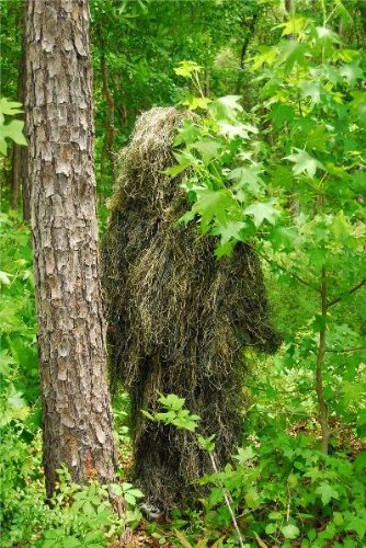 Ghillie Ultralight (Synthetic Ultra-Light Ghillie BDU Pants Woodland 3XL)
