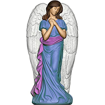 general foam plastics light up angel with wings christmas decoration cfp