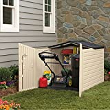 Rubbermaid Outdoor Slide-Lid Storage Shed, 96