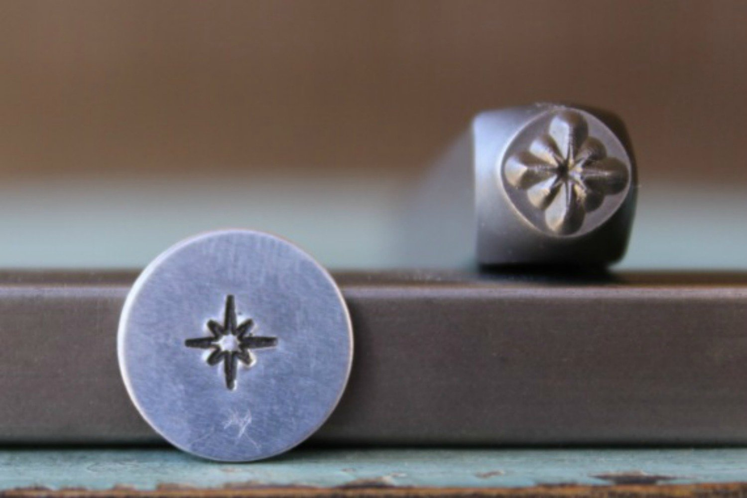 5mm Twinkle Star Metal Punch Design Jewelry Stamp