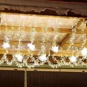 Weihnachtsbeleuchtung Tannenbaum Innen.Ankouja Led Lichterkette 200er Für Weihnachtsbaum Weihnachten Warmweiß Innen Zimmer 8 Funktiontyp Memory Verlaengerbar Weihnachtsbeleuchtung