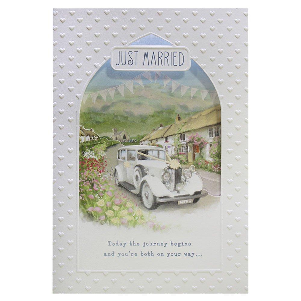 Hallmark Wedding Card 'Pop Up Cake' - Medium 11481372
