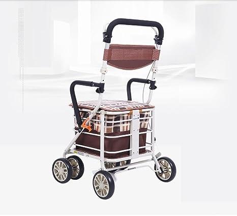 Plegable Old Man (4 ruedas carrito de la compra Conducción auxiliar Old Volkswagen carrito de