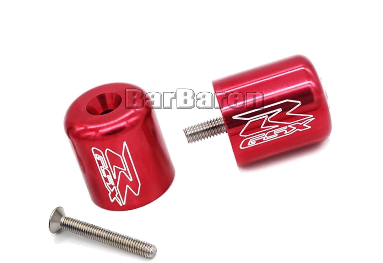 CNC Aluminum Handlebar Grips Bar Ends For Suzuki GSX-R 600 750 1000 K6 K8 K9 Shoubadu-GSXR