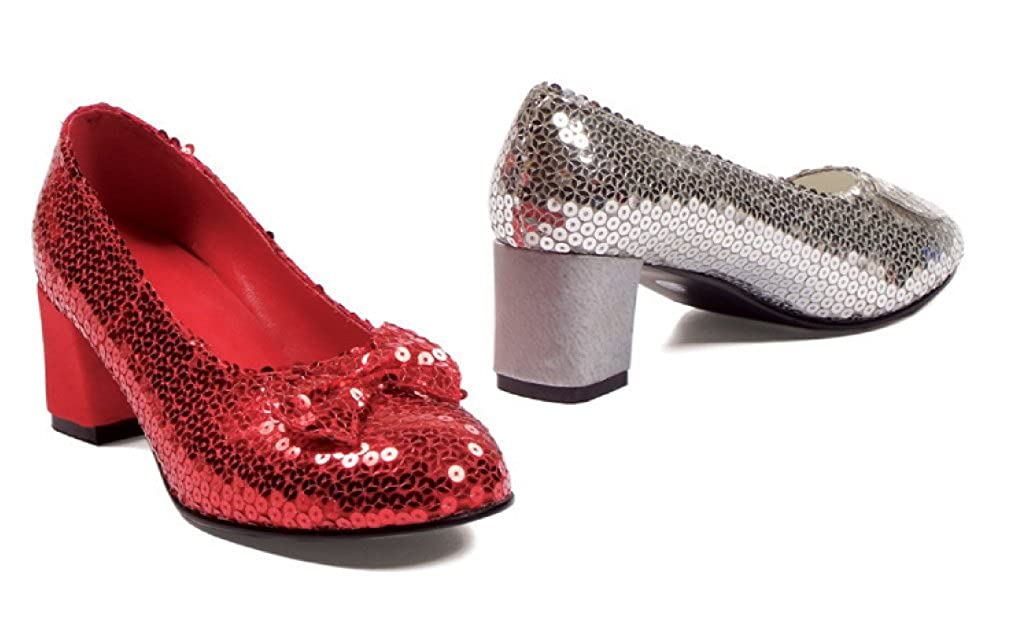 BirthdayExpress Judy Sequin (Red) Adult Shoes - 10 E-203JUD/RED-10