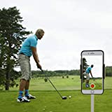 XLHVTERLI Golf Phone Holder Golf Swing Record/Analyse,Universal Smartphone Holder for the Golf Trolley/Golf Buggy/Golf Cart,GPS Holder,Suitable for all Smartphones,Golf gifts for men