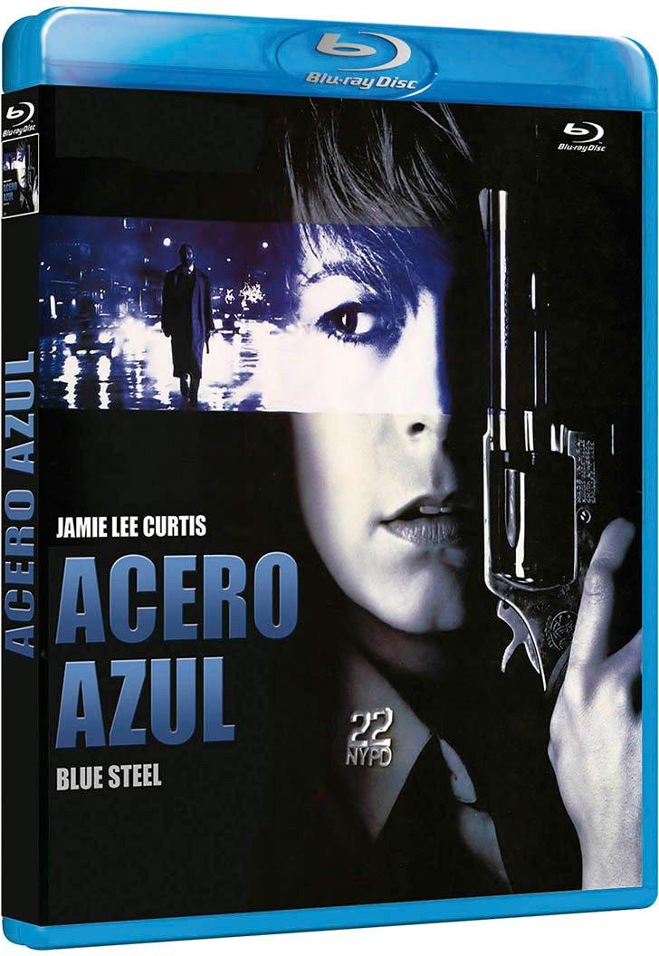 Acero Azul [Blu-ray]: Amazon.es: Jamie Lee Curtis, Ron Silver ...