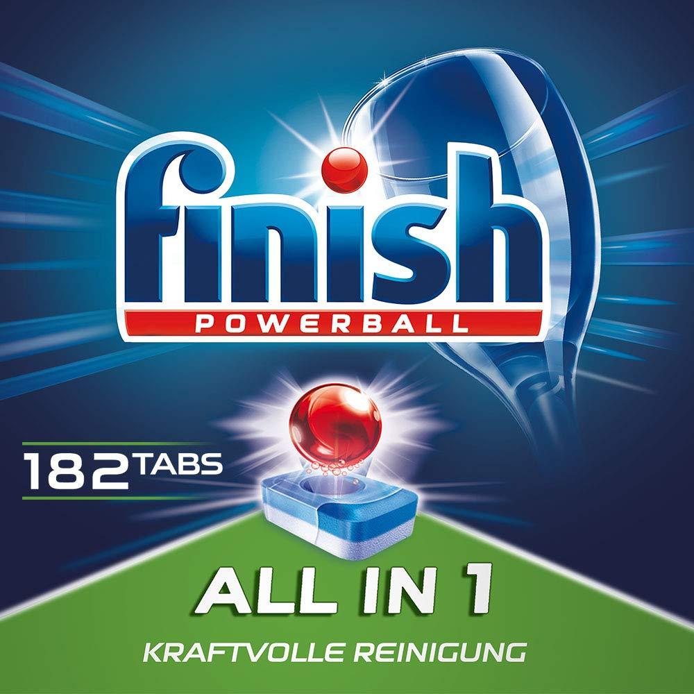 Finish All in 1洗碗机专用球182粒
