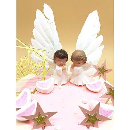 Sunormi - Decoración para tarta de cumpleaños con alas de ...