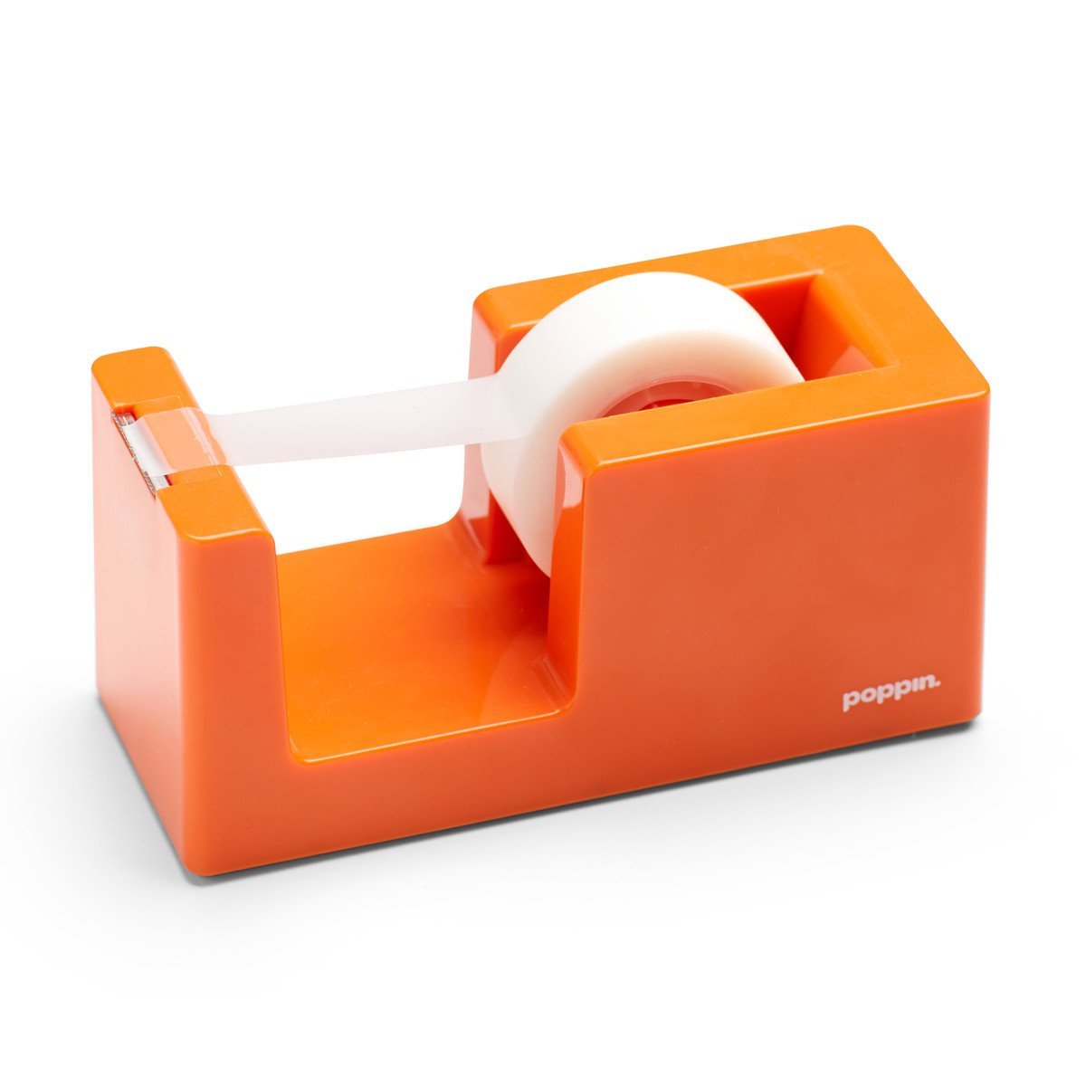 Poppin Tape Dispenser - Orange