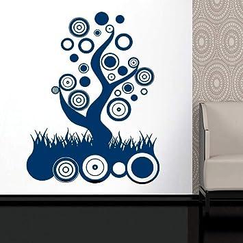 Anual Anillo Árbol Círculo Etiqueta de la pared Sala de estar ...