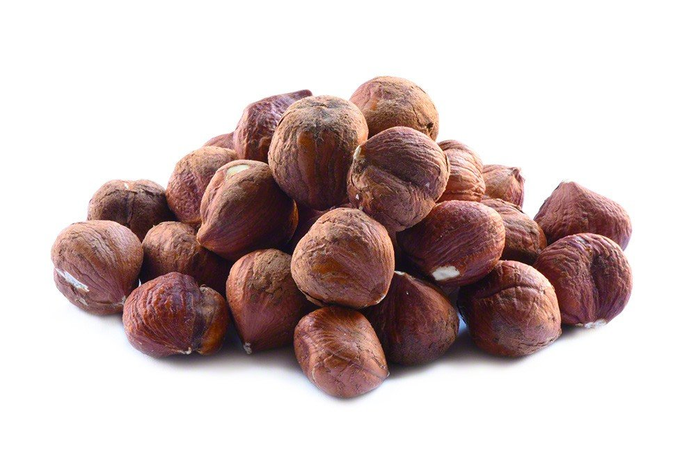 Raw Hazelnuts/Filberts - 1lb Bag of Raw Hazelnuts
