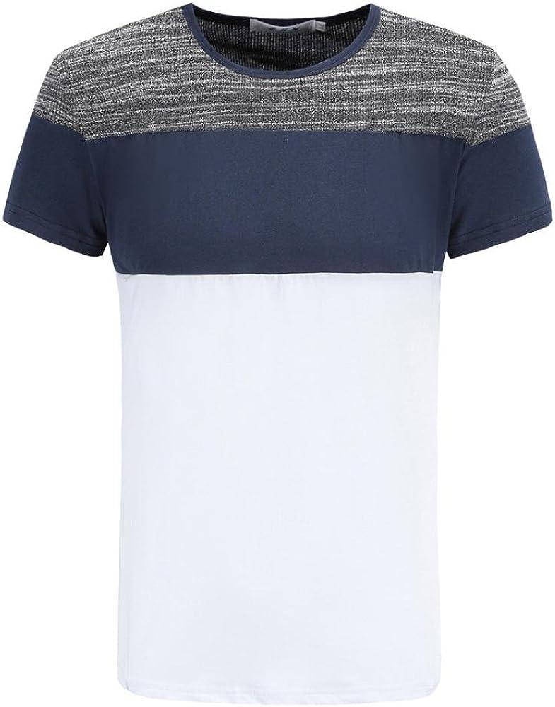 Camiseta para Hombre, Hombre Camiseta De Manga Corta Escote ...