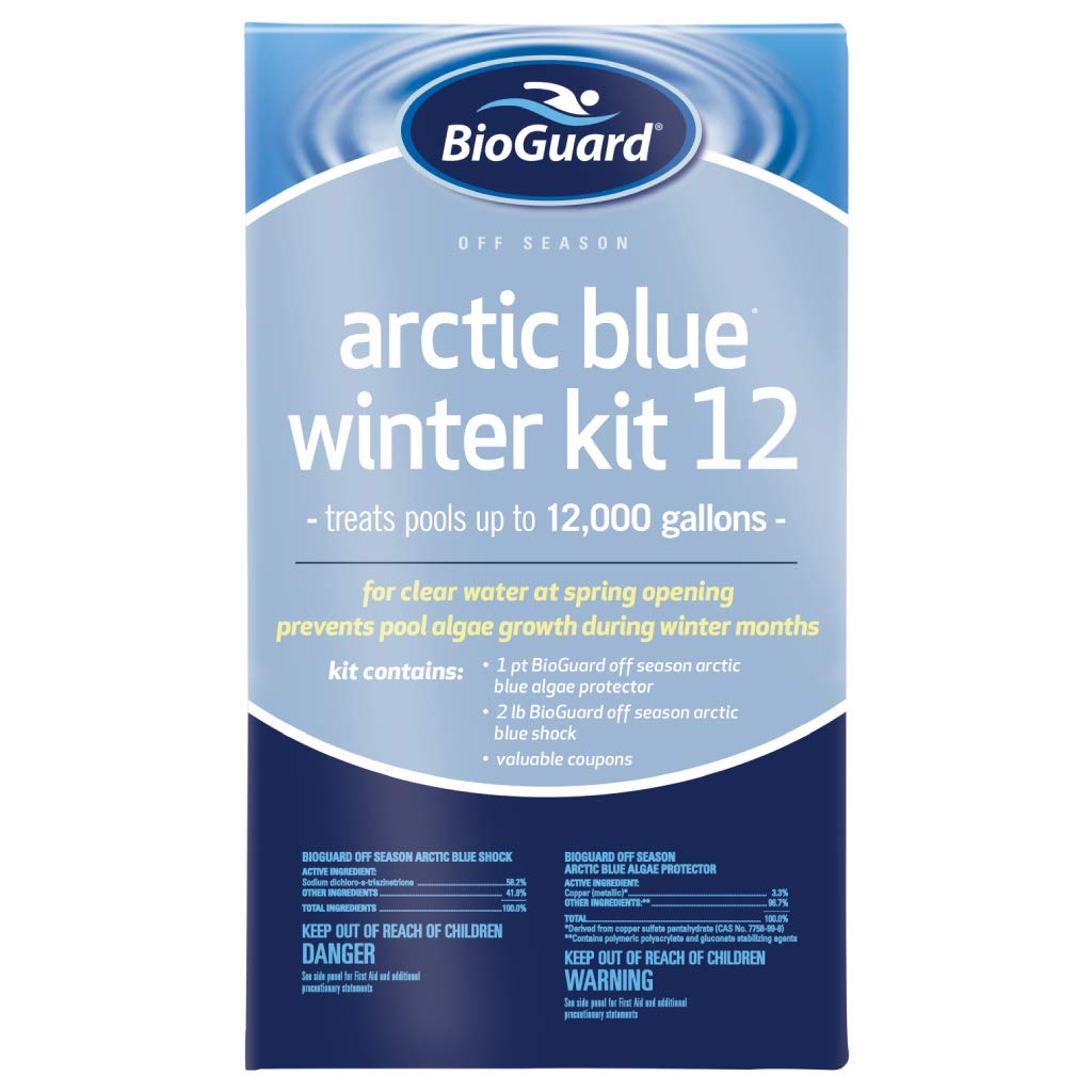 Amazoncom Bioguard Arctic Blue Winter Kit 12k Gallons Garden