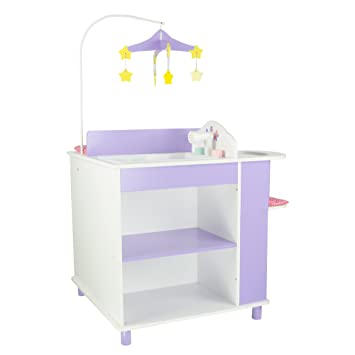 Exceptional Oliviau0027s Little World   Princess Baby Doll Furniture   Baby Changing  Station With Storage (White