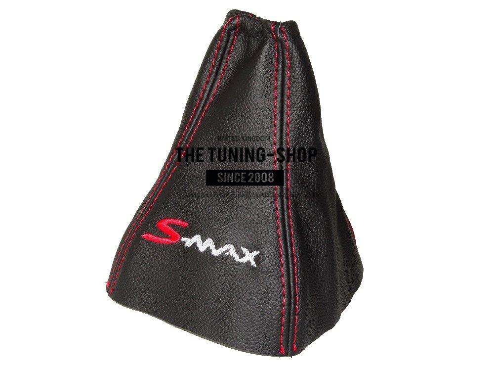 GEAR GAITER BLACK ITALIAN LEATHER S-MAX LOGO EMBROIDERY