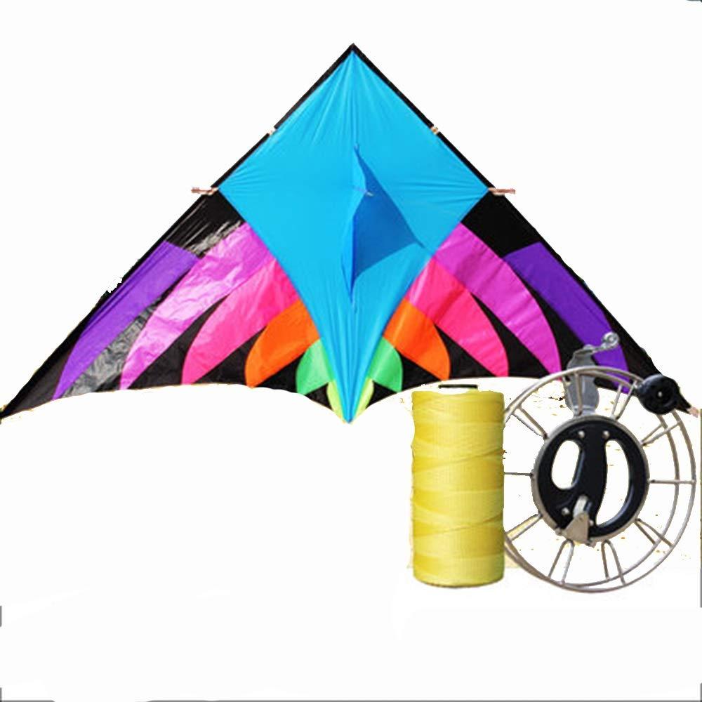 カイト 大 大人 さいず リール 傘布 防風 カラフル ロングテール トライアングルカイト リール 大人 (サイズ さいず : C) B07QV8C2KR B B, ナカヤマ カバン:b488d116 --- ferraridentalclinic.com.lb