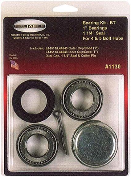 1 3//8 in X 1 1//16 in Wheel Bearing Kit w// Dust Cap