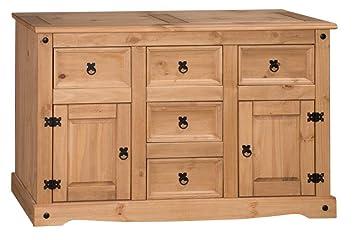 Mercers Furniture Corona Large Sideboard   Pine