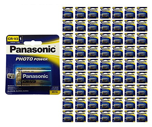 96x Panasonic CR-V3 Battery Photo Lithium 3V LCRV3B ELCRV3 KCRV3 LB-01 by 21Supply